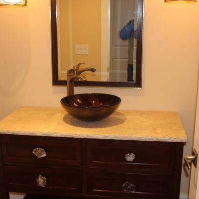 Second Bathroom Sink